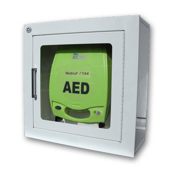 AED-Wandkasten weiss 18cm