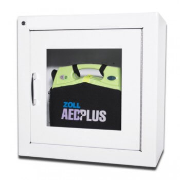 AED-Wandkasten weiss 22cm