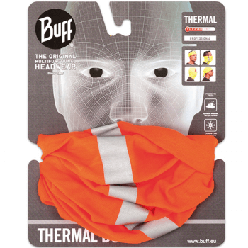 BUFF_Thermal-Reflective_orange_packed Multifunktionstuch