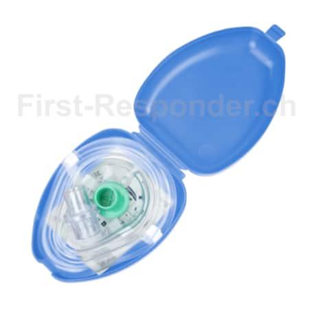 Beatmungsmaske-Taschenmaske-blau_CASE-offen