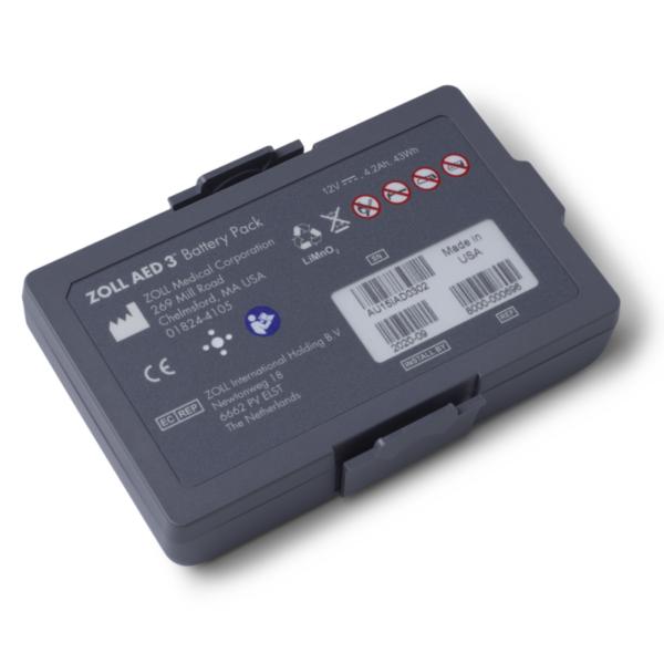 Defibrillator ZOLL AED 3_Batterie
