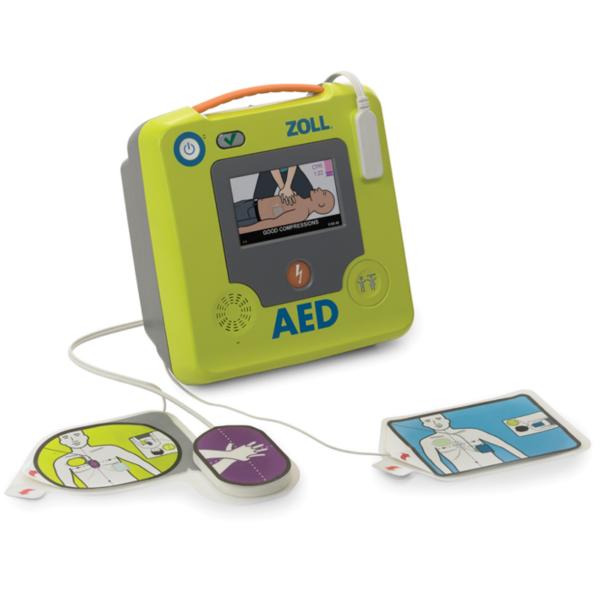 Defibrillator ZOLL AED 3_Elektroden