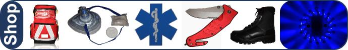 First -Responder Shop: Für Notfallaussrüstung die erste Wahl