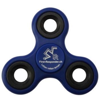 Fidget-Spinner Finger-Spinner_front,blau