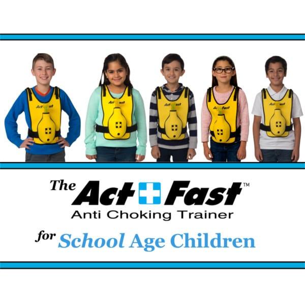 Heimlich-Handgriff-Trainer-Kinder ActFast_5 Kinder