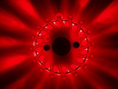 LED Blitzer Rot ON