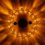 LED Blitzer Warn- und Signallicht Akku