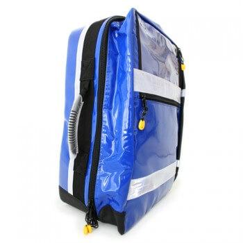 Notfallrucksack FR Profi blau side