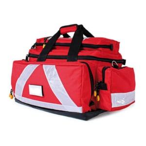 Notfalltasche Ultra nylon rot_side