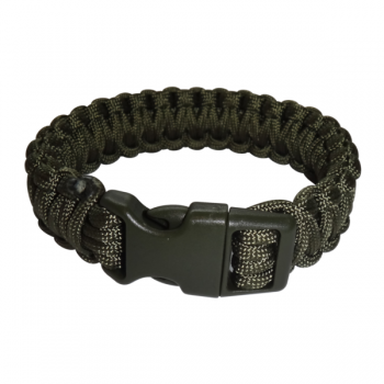 Paracord Armband oliv XL_closed
