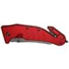 Rettungsmesser Standard red_closed