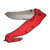 Rettungsmesser Standard red_half