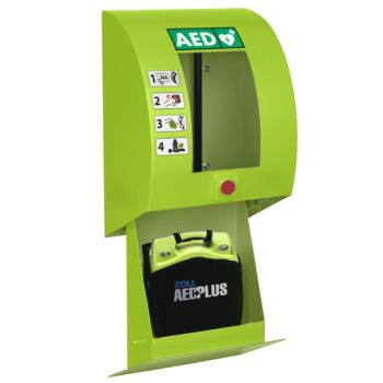SixCase SC1330_open AED-Wandkasten